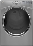 "WGD92HEFC Whirlpool 27"" 7.4 cu. ft. Gas Dryer with 10 Dry Cycles, Advanced Moisture Sensing System - Chrome Shadow"
