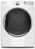 "WGD92HEFW Whirlpool 27"" 7.4 cu. ft. Gas Dryer with 10 Dry Cycles, Advanced Moisture Sensing System - White"