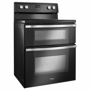 Wge755c0be Whirlpool 67 Total Cu Ft Double Oven Electric Range