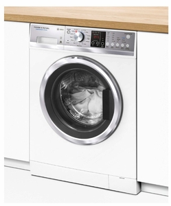 """WH2424F1 Fisher & Paykel 24"""" 2.4 cu ft Capacity WashSmart Front Load Washer with 12 Wash Cycles and Sanitize Wash  - White"""
