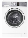 "WH2424P1 Fisher & Paykel 24"" 2.4 cu ft Capacity WashSmart Front Load Washer with 12 Wash Cycles and Sanitize Wash  - White"
