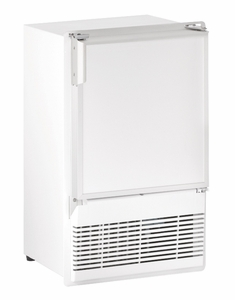 "WH95FC-20A U-Line Marine Series 14"" Marine Crescent Ice Maker - Field Reversible - 220V - White"