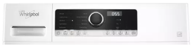 """WHD5090GW Whirlpool 24"""" 4.3 cu. ft. True Ventless Heat Pump Compact Dryer with Wrinkle Shield Option and Refresh Cycle - White"""