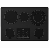 Whirlpool Electric Cooktops - BLACK