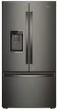Whirlpool French Door Refrigerators - Black Stainless Steel