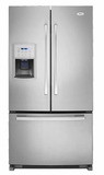 Whirlpool French Door Refrigerators - Stainless Steel