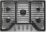 Whirlpool Gas Cooktops - STAINLESS STEEL