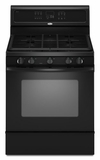 Whirlpool Gas Ranges BLACK