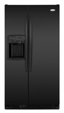 Whirlpool Side by Side Refrigerators - BLACK