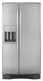 Whirlpool Side by Side Refrigerators - STAINLESS STEEL