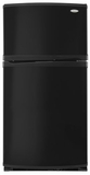 Whirlpool Top Mount Freezers - BLACK