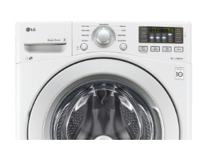 "WM3270CW LG 27"" 4.5 cu. ft. Ultra Large Capacity Front Load Washer with 9 Wash Cycles and 4 tray Dispenser - White"