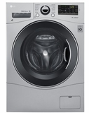 "WM3488HS LG 24"" Compact All-In-One Ventless Washer and Dryer with 2.3 Cu. Ft. Capacity - Silver"