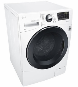 "WM3488HW LG 24"" Compact All-In-One Ventless Washer and Dryer with 2.3 Cu. Ft. Capacity - White"