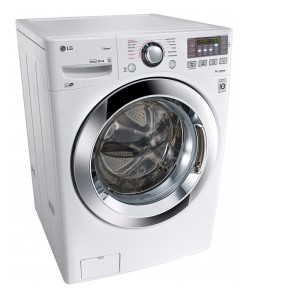 """WM3670HWA LG 27"""" 4.5 cu. ft. Ultra Large Capacity Front Load Washer with Steam Technology - White"""