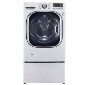 "WM3997HWA LG 27"" Turbo Wash Series Electric All-in-One Washer-Dryer Combo with ColdWash Option and Steam Technology - White"