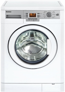 WM77120NBL01 Blomberg 1.95 Cu. Ft. Front Load Washer with Automatic Temperature Control - White