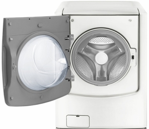 """WM9000HWA LG 29""""  5.2 Cu. Ft. 14-Cycle High-Efficiency Front-Loading Washer with Steam - White"""