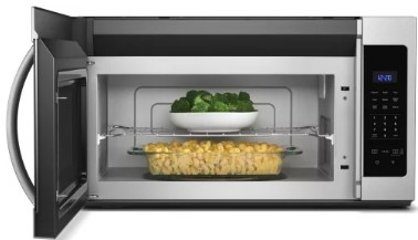 Ft Over The Range Microwave Hood Combination With Electronic Touch Controls And
