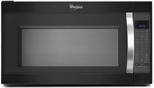 WMH53520CE Whirlpool 2.0 Cu Ft 1000W Over-The-Range Microwave - Black Ice
