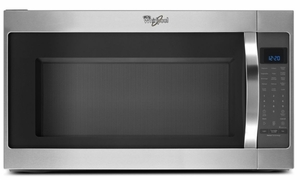 Wmh53520cs Whirlpool 2 0 Cu Ft 1000w Over The Range Microwave Stainless Steel Code Manufacturer Model