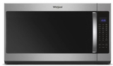 "WMH53521HZ Whirlpool 30"" 2.1 Cu. Ft. Over-the-Range Microwave Hood Combination with Sensor Cooking and CleanRelease Interior - Stainless Steel"