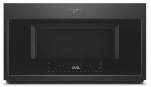 "WMH78019HB Whirlpool 30"" 1.9 Cu. Ft. Over the Range Microwave with Steam Cooking and Scan-to-Cook - Black"