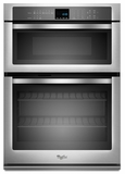 """WOC54EC7AS Whirlpool 27"""" Microwave Combination Oven - Stainless Steel"""