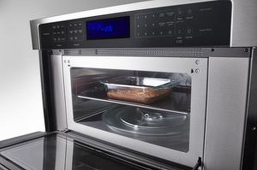 Woc97es0es Whirlpool 30 Wide 6 4 Cu Ft Combination Wall Oven With True Convection Microwave Stainless Steel