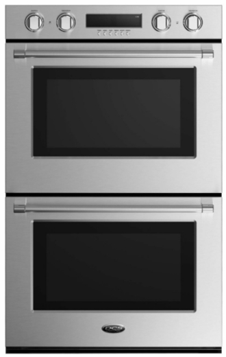 """WODV230 DCS 30""""Double Wall Oven with 10 Cooking Modes and a True Convection System - Stainless Steel"""