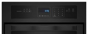 WOS11EM4EB Whirlpool 3.1 Cu. Ft. Single Wall Oven with AccuBake System - Black