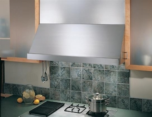 "WP28M36SB Best Classico Series 36"" Stainless Steel Pro-Style Range Hood with Hi Flow Baffle Filters"