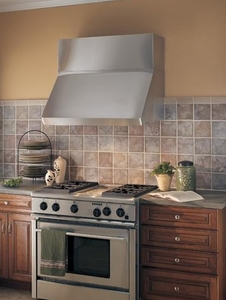 """WP29M424SB Best Centro 42"""" Stainless Steel Pro-Style Range Hood - Stainless Steel"""