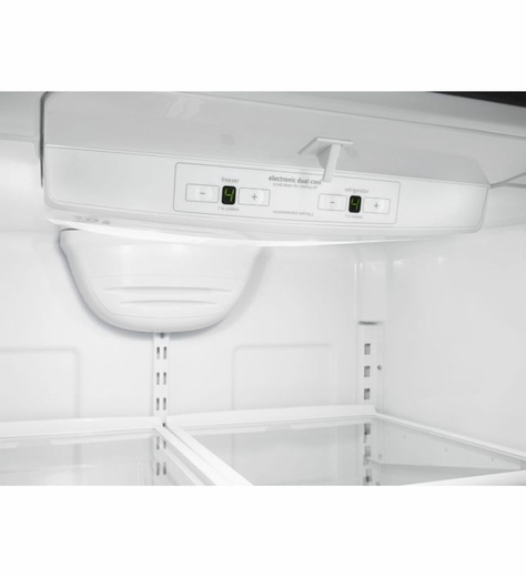 WRB322DMBM Whirlpool 22 cu. ft. Bottom-Freezer Refrigerator with Freezer Drawer - Stainless Steel