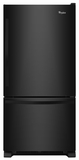WRB329DMBB Whirlpool 19 cu. ft. Bottom-Freezer Refrigerator with Freezer Drawer - Black