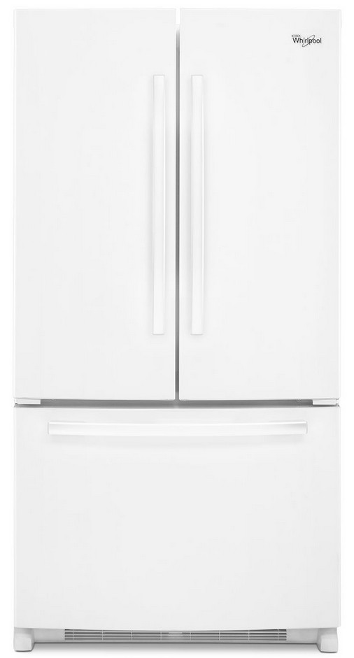 Reviews For Wrf535swbw Whirlpool 25 Cu Ft French Door Refrigerator With Interior Water