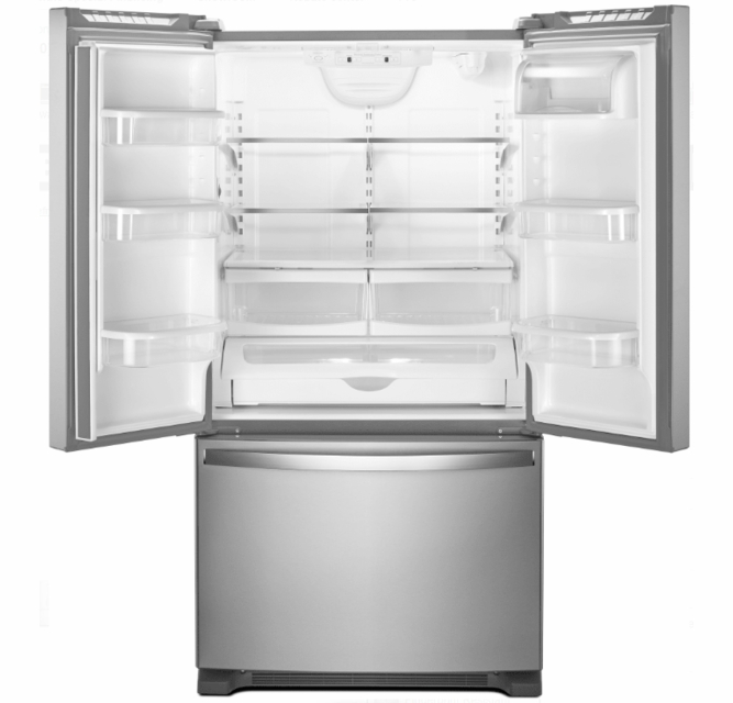 Wrf535swhz Whirlpool 36 25 2 Cu Ft Capacity French Door Refrigerator With Temperature Controlled Drawer And Interior