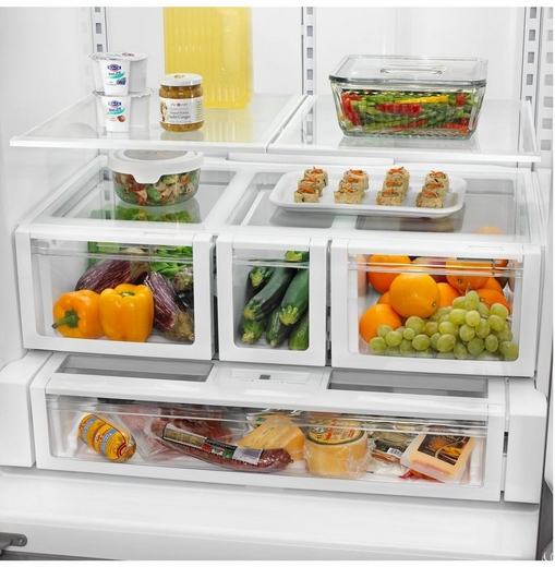 WRF736SDAM Whirlpool (R) 26 cu. ft. French Door Refrigerator - Stainless Steel