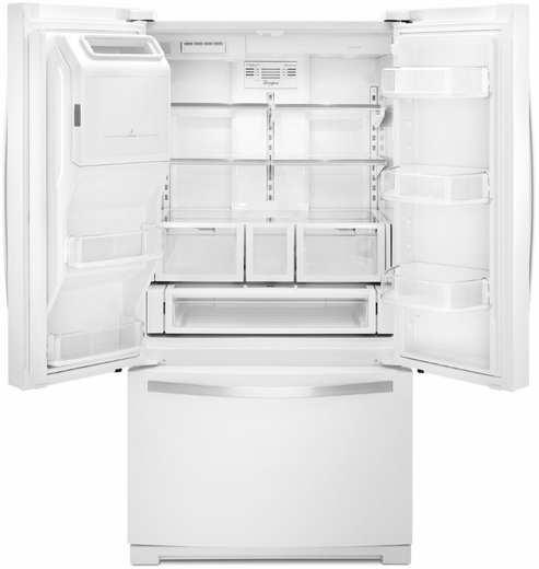 Wrf757sdeh Whirlpool 27 Cu Ft French Door Bottom Freezer