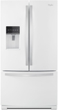 WRF757SDEH Whirlpool 27 cu. ft. French Door Bottom Freezer Refrigerator with StoreRight System - White