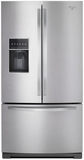 WRF757SDEM Whirlpool 27 cu. ft. French Door Bottom Freezer Refrigerator with StoreRight System - Monocromatic Stainless Steel
