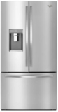 "WRF992FIFM Whirlpool 36"" 32 Cu. Ft. French Door Refrigerator with Infinity Slide Shelf and Platter Pocket - Monochromatic Stainless Steel"
