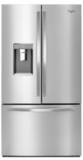 "WRF993FIFM Whirlpool 36"" French Door Refrigerator with Platter Pocket and Infinity Slide Shelf - Monochromatic Stainless Steel"