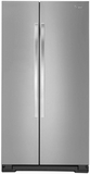 WRS325FNAM Whirlpool 25 cu. ft. Side-by-Side Refrigerator with Greater Capacity - Stainless Steel