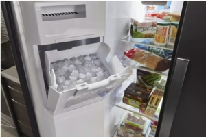 """WRS571CIHW Whirlpool 36"""" 20.59 Cu. Ft. Capacity Freestanding Counter Depth Side by Side Refrigerator with Accu-Chill Temperature Management System and LED Interior Lighting - White"""