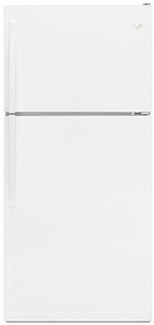 "WRT138FZDW Whirlpool 30"" Wide Top-Freezer Refrigerator with Electronic Temperature Control - White"