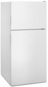 "WRT348FMEW Whirlpool 30"" Wide Top-Freezer Refrigerator with Icemaker 18 cu. ft - White"