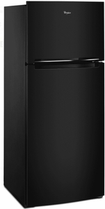"""WRT518SZFB Whirlpool 28"""" Wide Top-Freezer Refrigerator with QuickSelect System and PerfectPlaces System - Black"""
