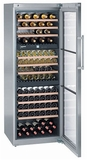 "WS17800 Liebherr 26"" Wine Storage Cabinet 3 Temp. Zones - Stainless Steel"