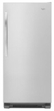 "WSR57R18DM Whirlpool 30"" Built-in 18 cu. ft. SideKicks All-Refrigerator with LED Lighting - Monochromatic Stainless Steel"